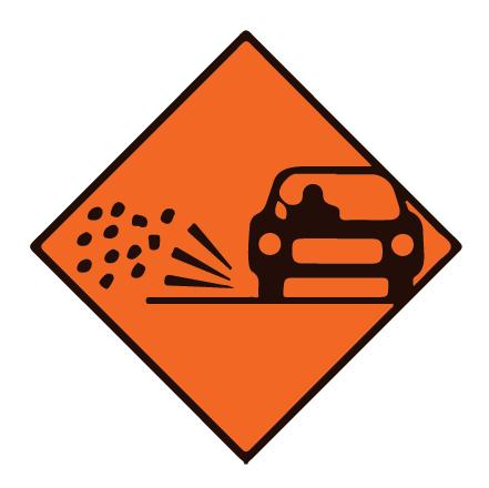 Temporary Road Works Signs