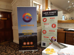 Exhibition materials from Barrow Signs