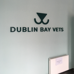 Dublin Bay Vets signage by Barrow Signs