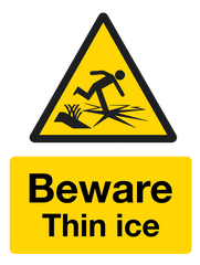 Beware Thin Ice