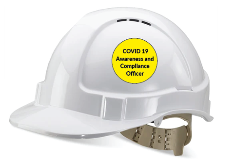 construcrion site signage for COVID 19 Compliance Officers for sale at www.signsonline.ie