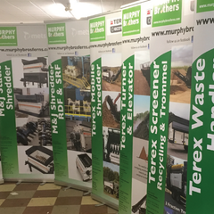 Pull Up Banners from Barrow Signs - Nationwide Delivery