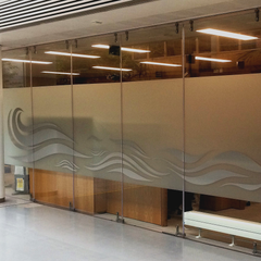 Window Manifestations at Dublin City Council Offices installed by Barrow Signs