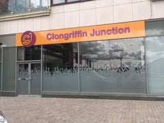 Fascia Signage at Clongriffin Junction, by Barrow Signs
