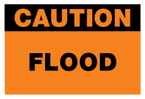 Caution Flood