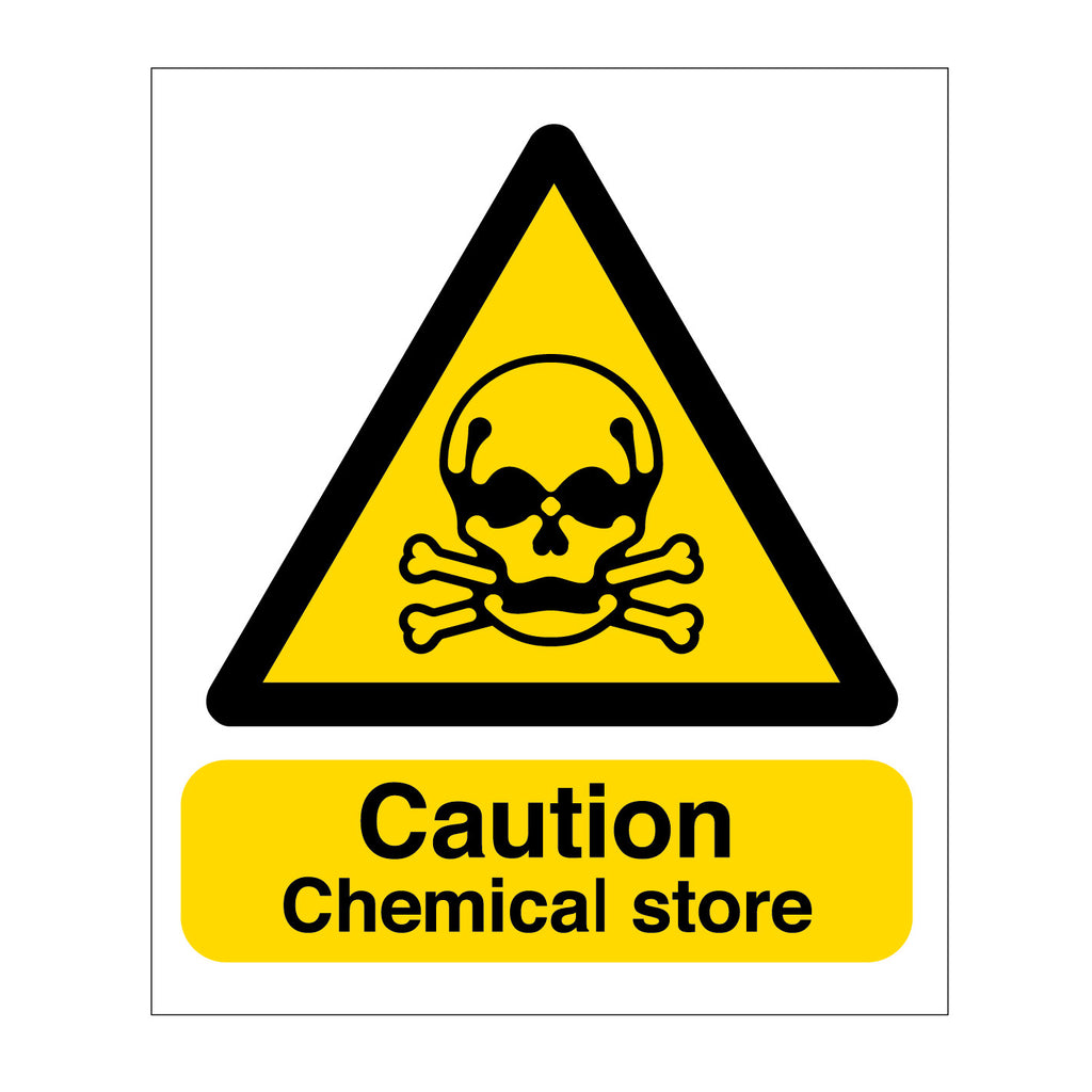 Chemical Store sign from www.barrowsigns.com