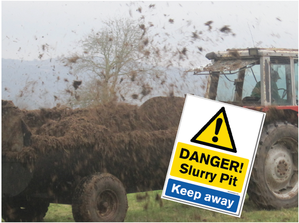 Danger Slurry Pit - Keep Away