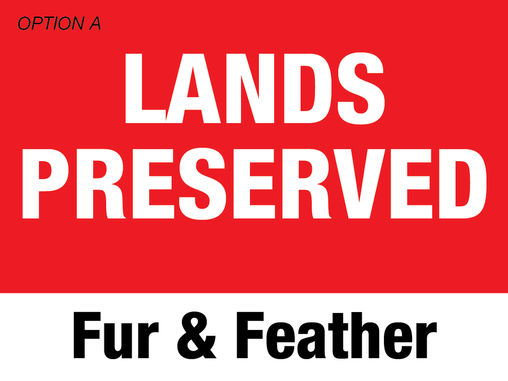 Lands Preserved Fur & Feather