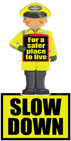 Road safety signage made to order from Sign Online.  Availabe for delivery from www.signsonline.ie