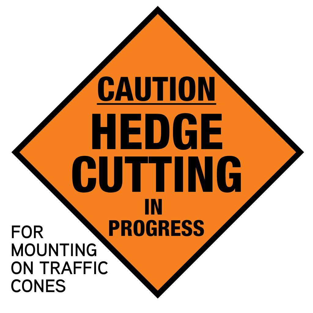 Cone Mounted Hedge Cutting