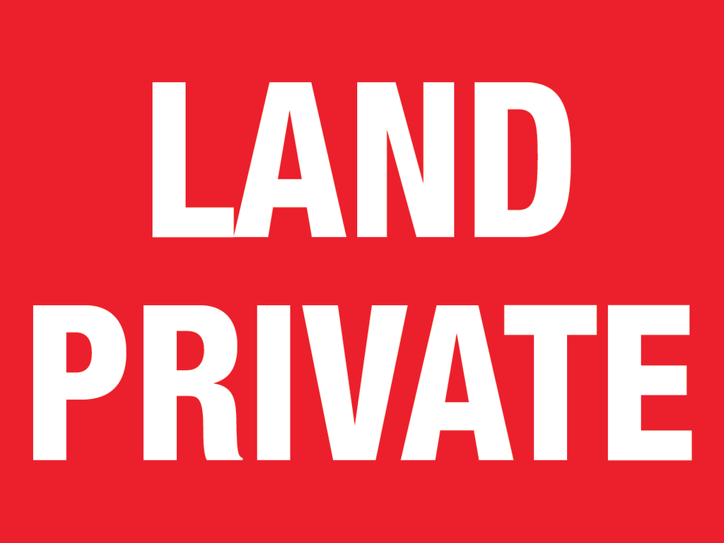LAND PRIVATE