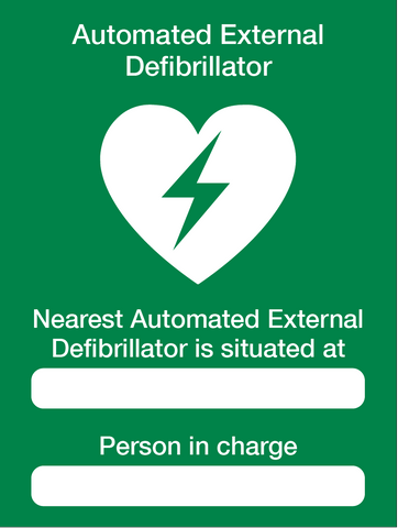 AED signage from www.barrowsigns.com