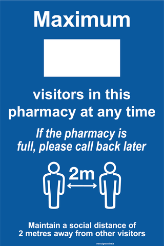 Number of Visitors In This Pharmacy