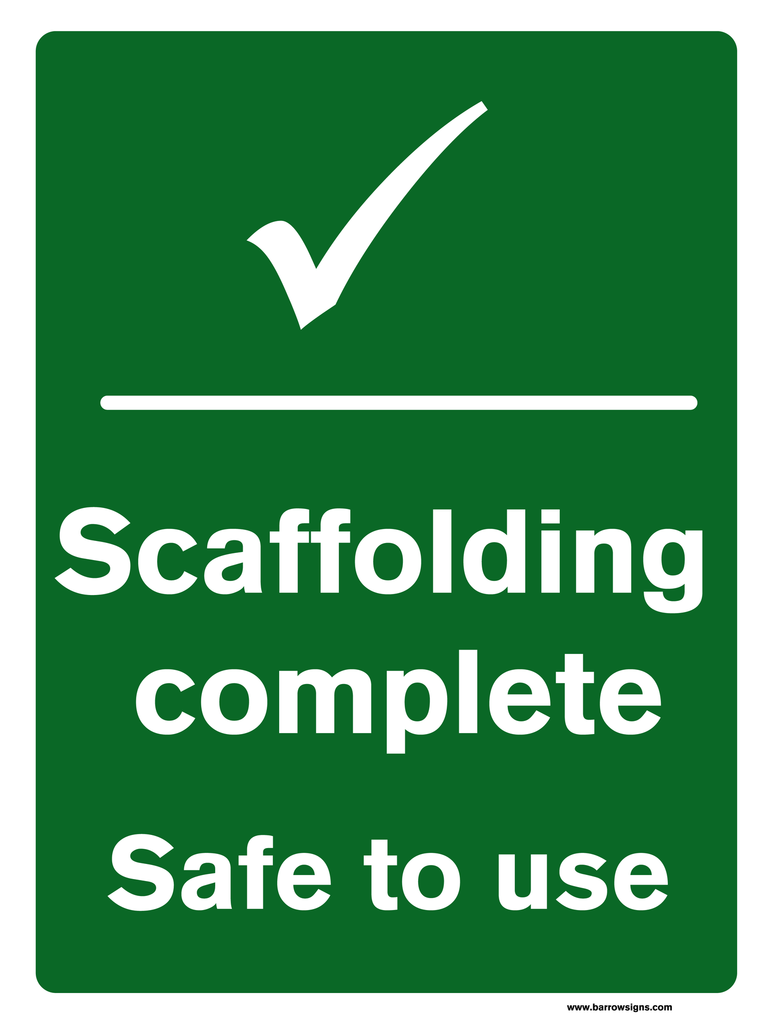Scaffolding Complete - Safe to use