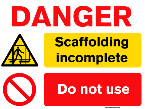 Scaffolding Incomplete - Do Not use