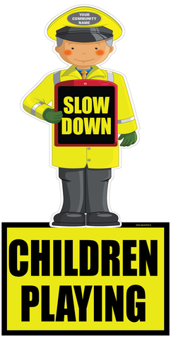 Road safety signage from www.signsonline.ie