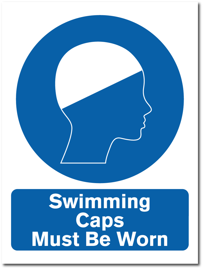 Swimming Hats Must Be Worn
