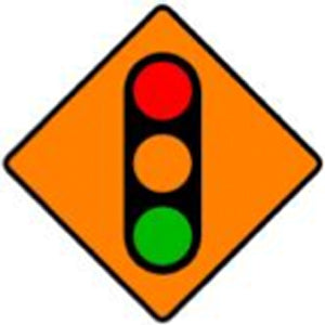 WK 060 Temporary Traffic Signals from barrowsigns.com