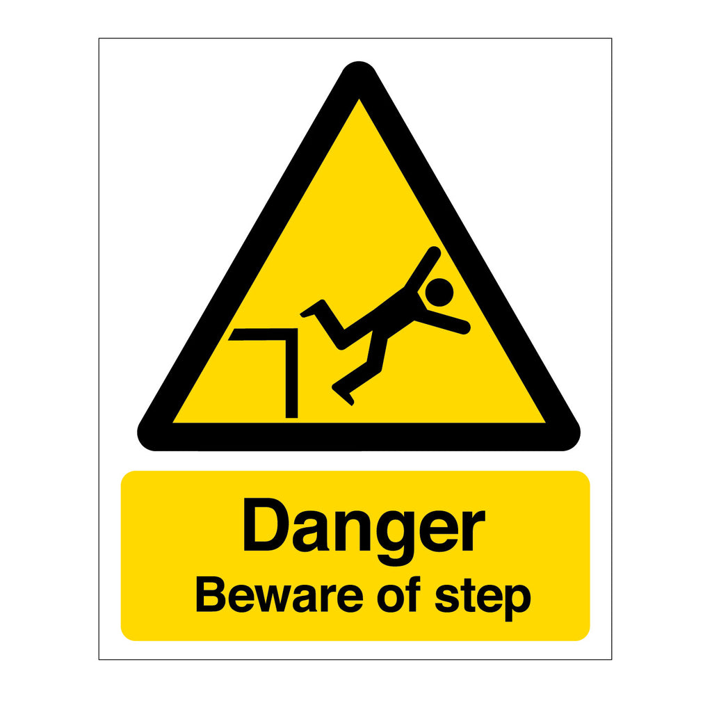 Danger - Beware of the Step