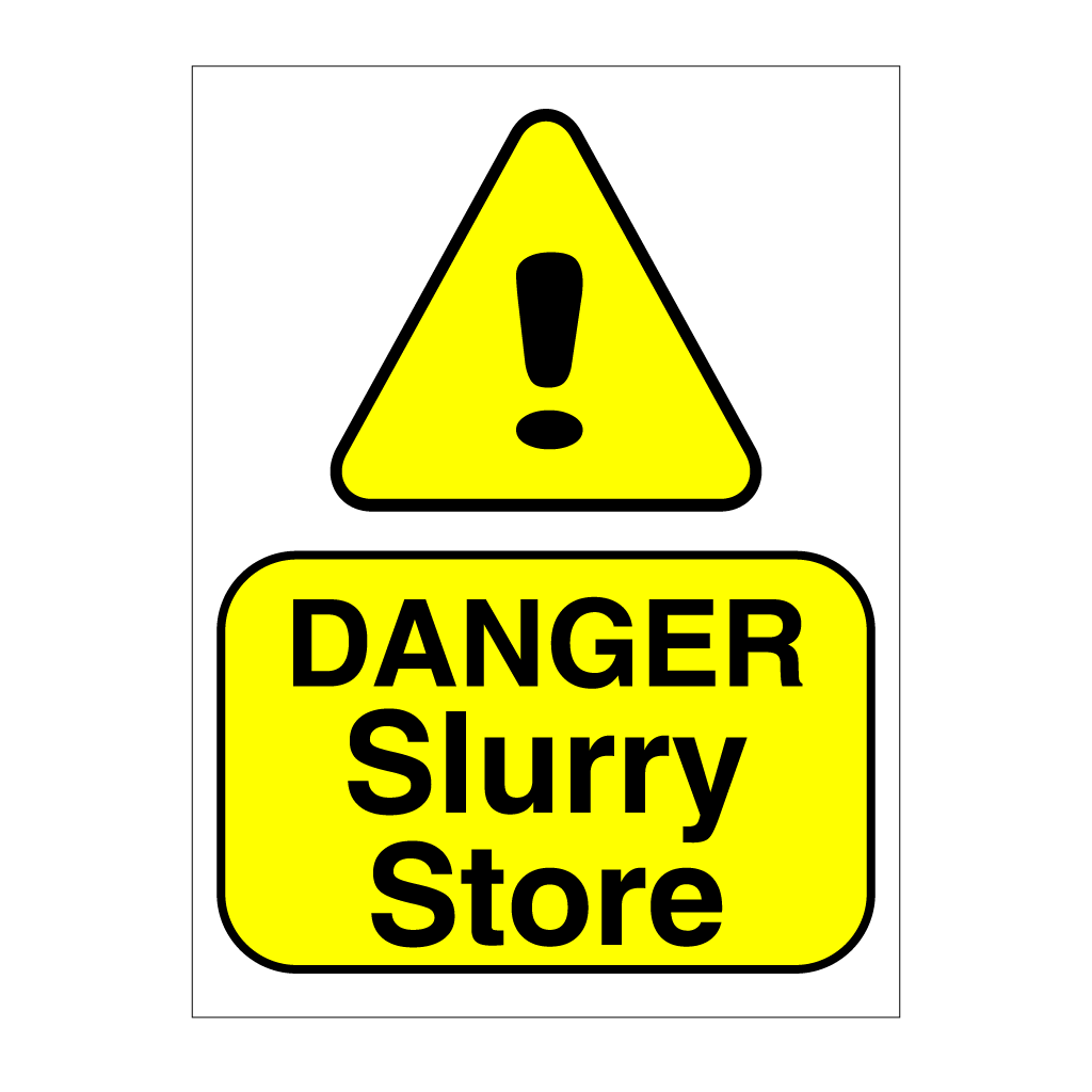 Danger Slurry Store