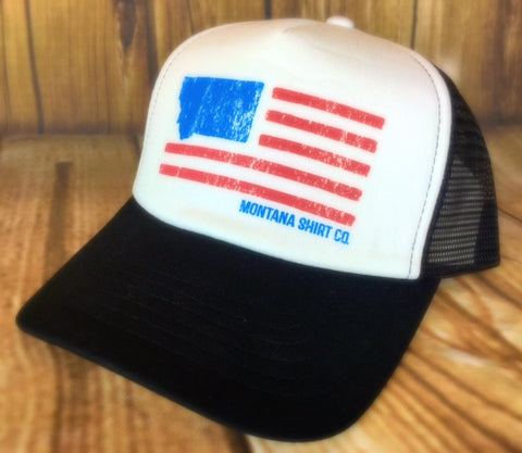 MSC Trucker Flag Hat - The Northern Boutique in Billings MT