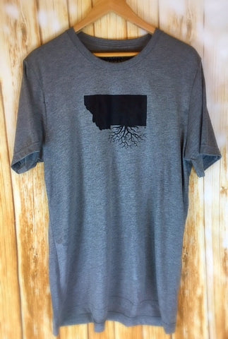 Montana Roots Mens Crew Tee - The Northern Boutique in Billings MT