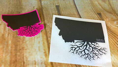 Montana Roots Stickers - The Northern Boutique in Billings MT