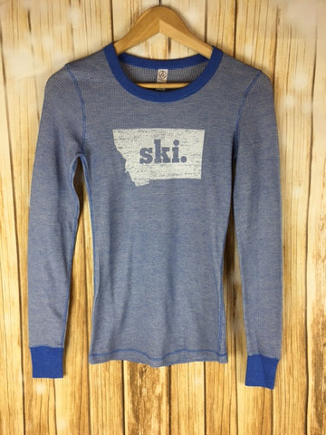Montana Shirt Co Made In Montana Ski Thermal Long Sleeve The