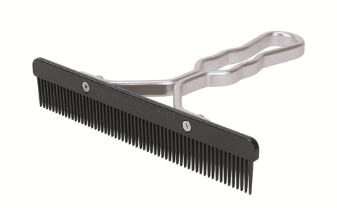 Aluminum Handle Comb with Plastic Blade