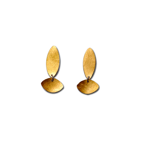 Dia Long Gold Earrings