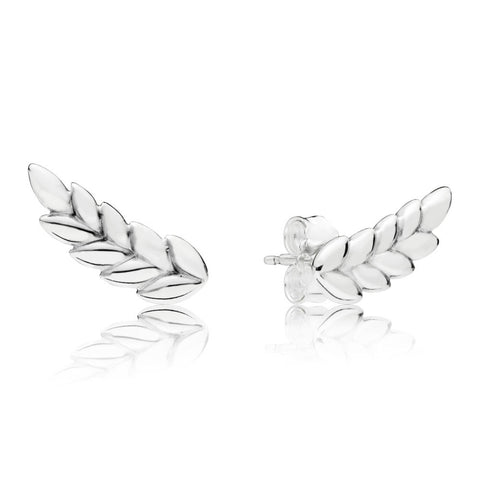 PANDORA Curved Grains Earrings