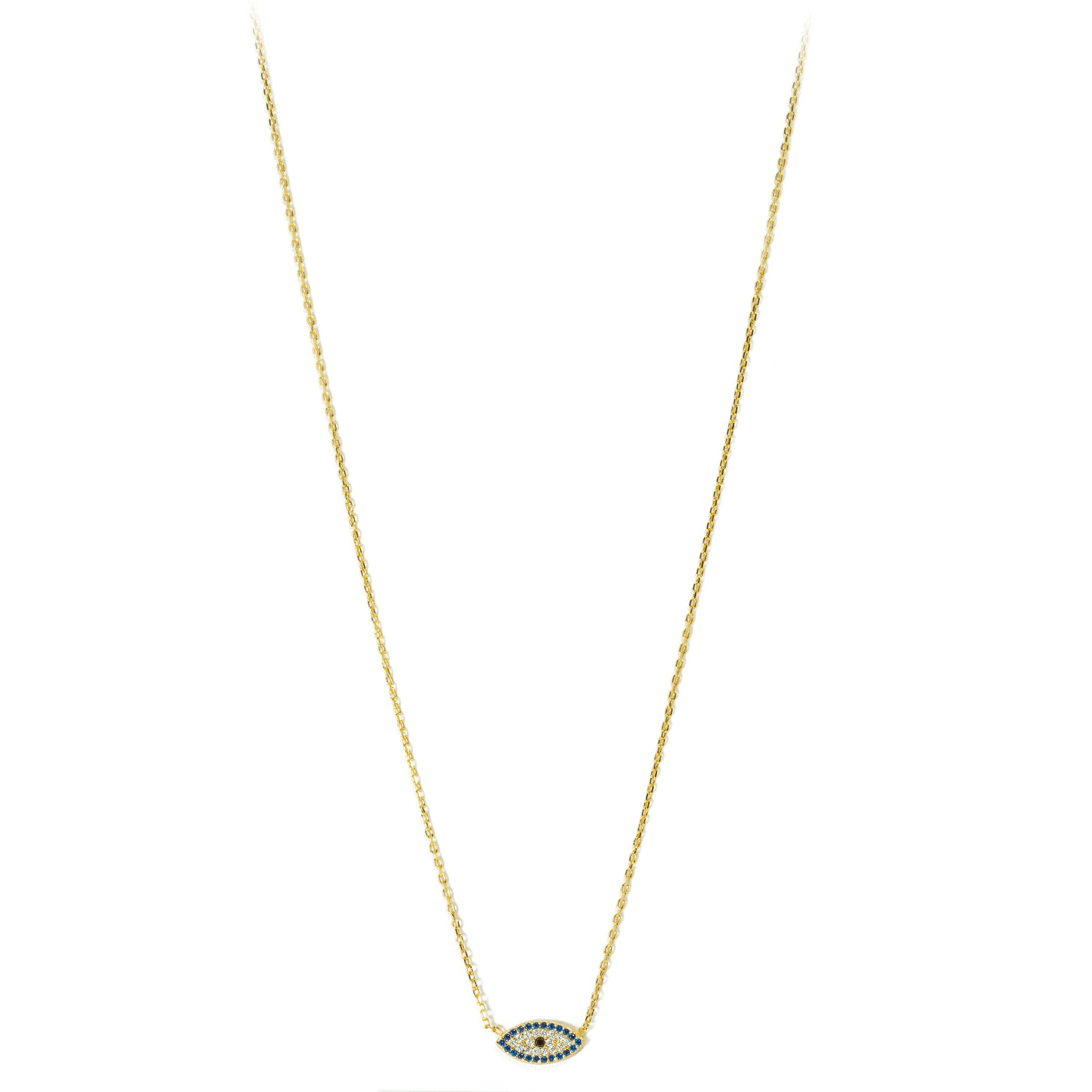 Eye Pendant Chain Necklace