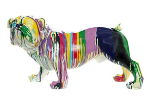 "Graffiti Bulldog - 30"" long"