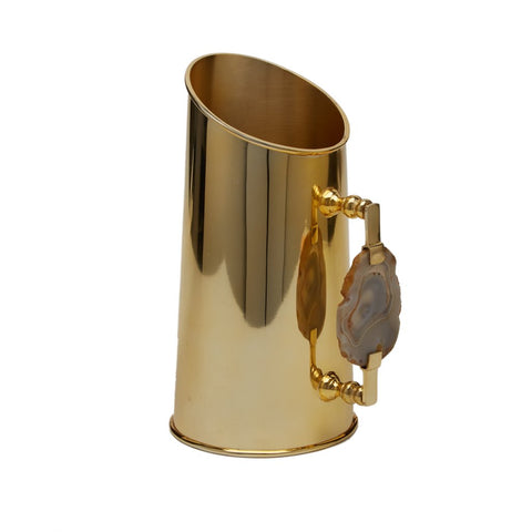 Genuine Agate Golden Pitcher
