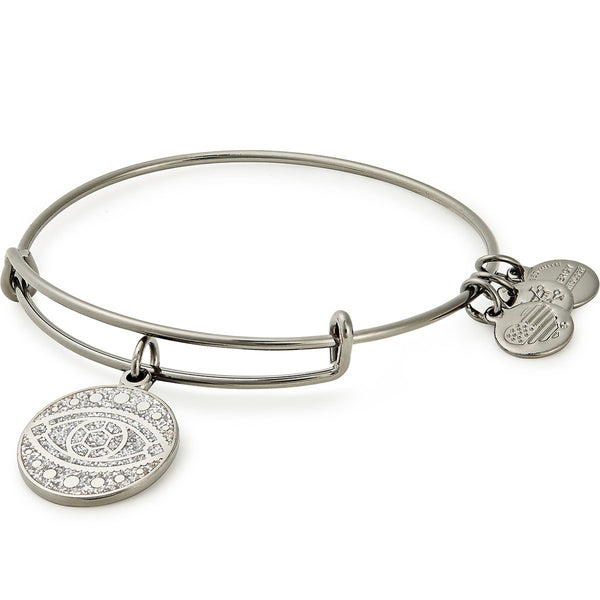 Alex and Ani Evil Eye Color Infusion Charm Bangle