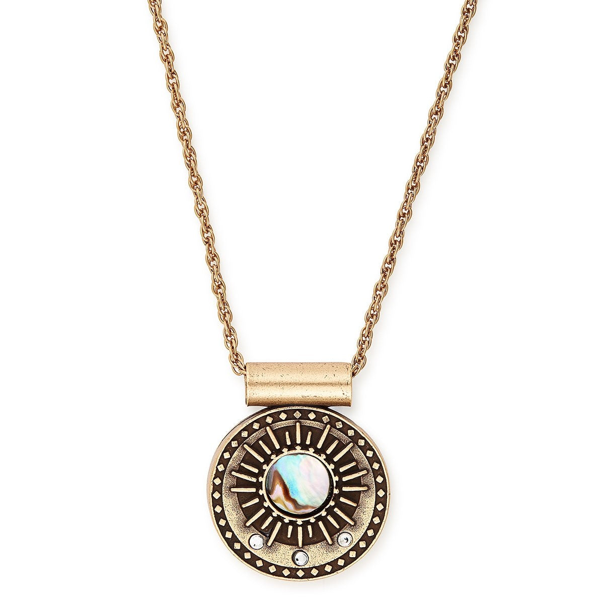 Alex and Ani Midnight Sun Adjustable Necklace