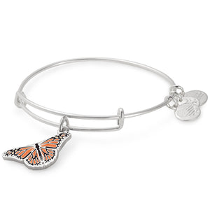 Alex and Ani Monarch Butterfly Charm Bangle | Roger Williams Park Zoo