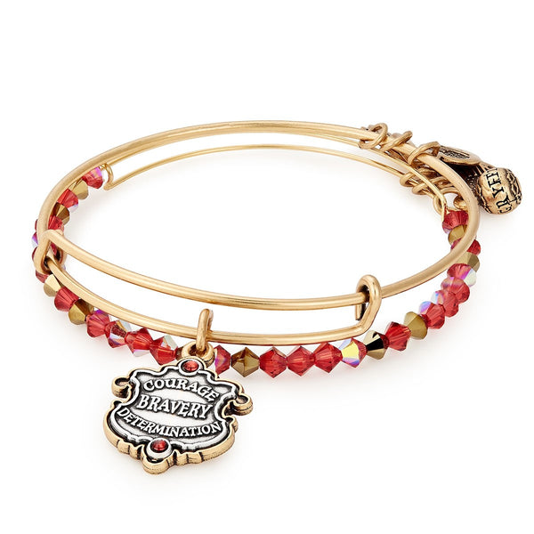 Alex and Ani HARRY POTTER™ GRYFFINDOR™ Motto Set of 2