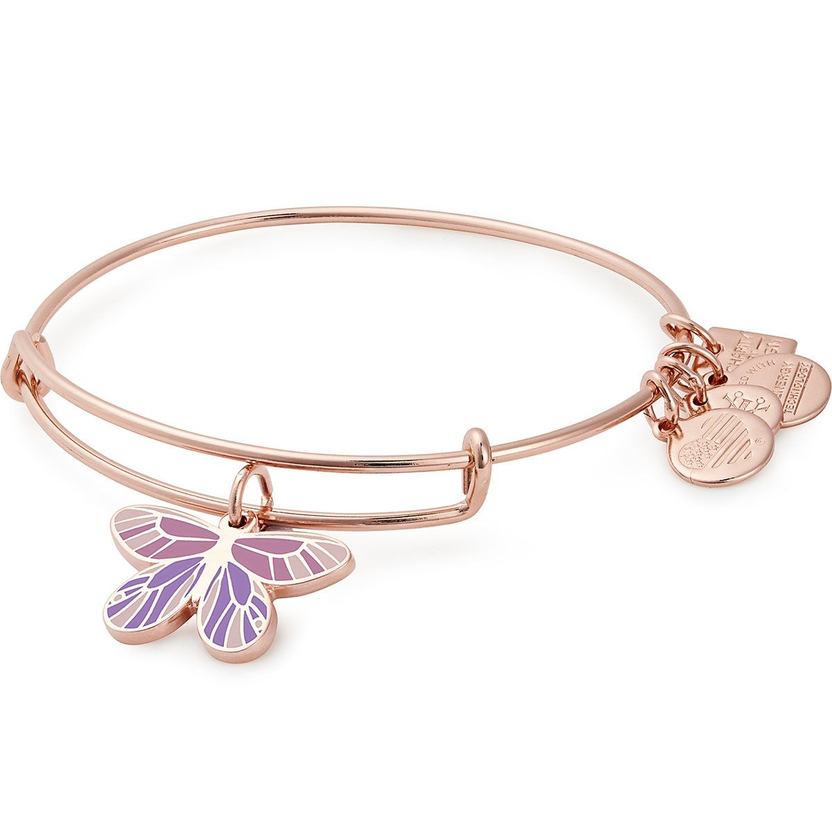 Alex and Ani Butterfly Charm Bangle | EB