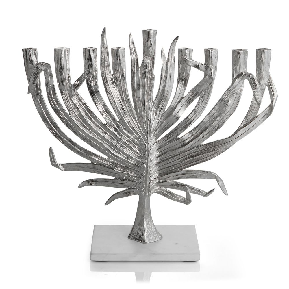 Nickel Palm Menorah