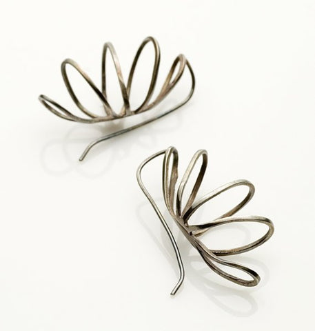Curved Wire Earrings