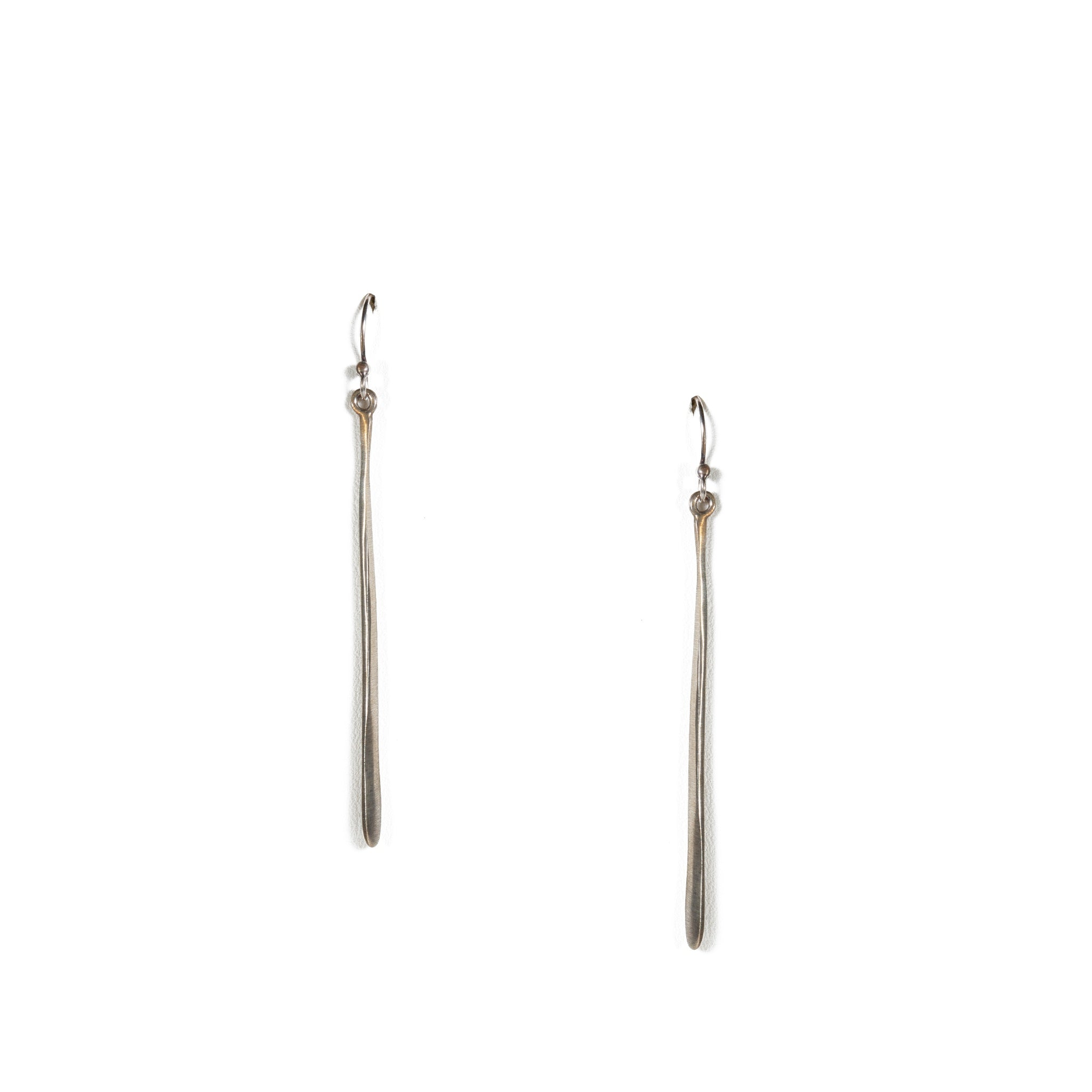 Long Stick Sterling Silver Earrings