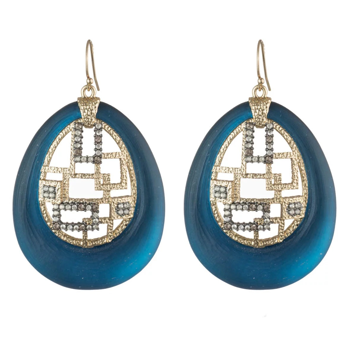 Brutalist Drop Earring