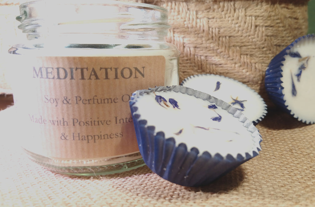 Bee on the Borage - Perfumed Jar Candles