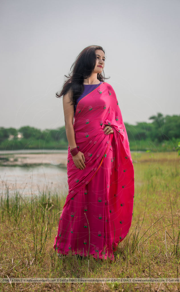 Pinkberry Saree