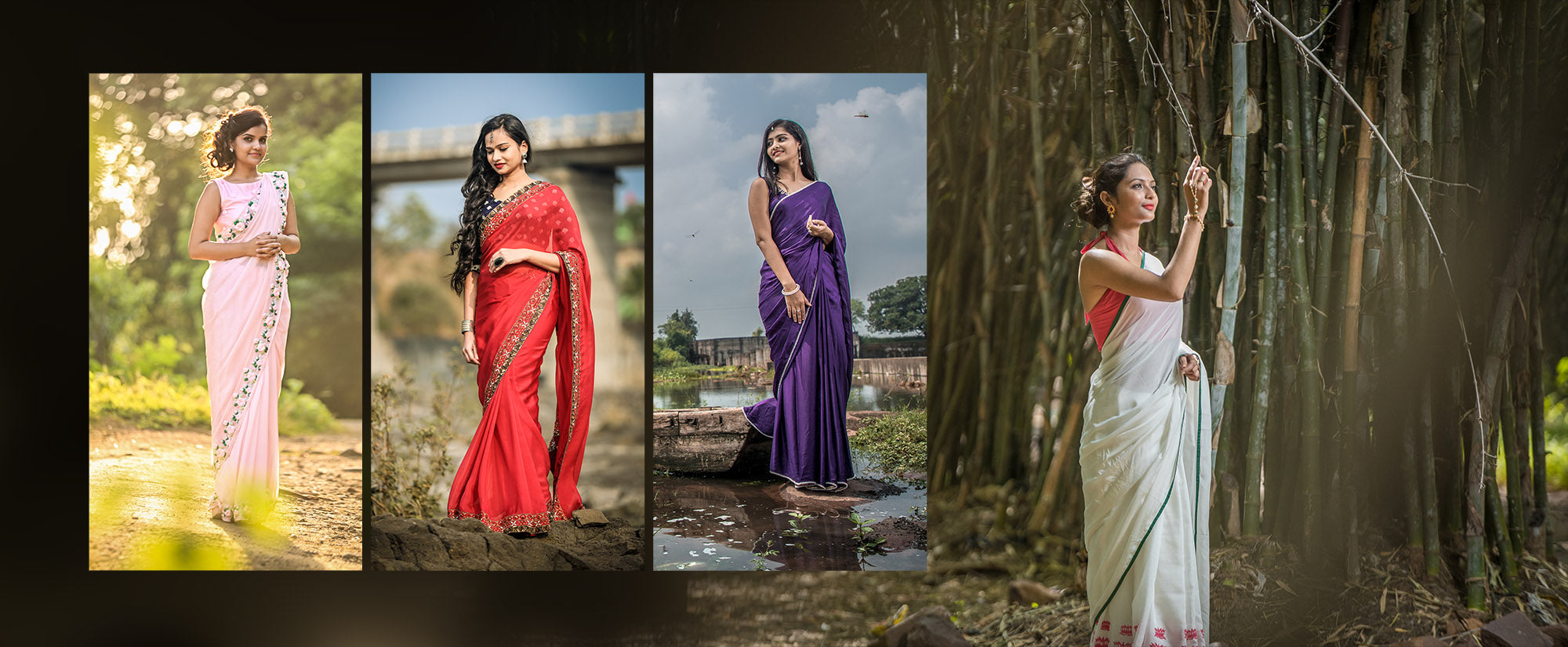 east and grace all sarees collection