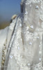 Juhi White Pure Silk-Organza Hand Embroidered Saree