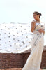 Iris Pure Chiffon Pure White Saree