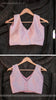 Winterland Baby Pink Raw-Silk Hand Embroidered Designer Blouse