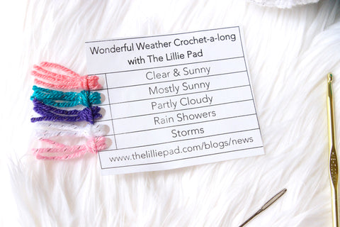 Weather Crochet A Long with The Lillie Pad